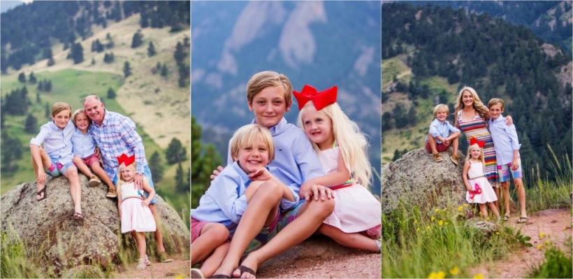 Sibling portrats in Boulder