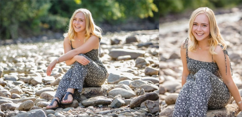 Clear Creek Golden Senior Pictures