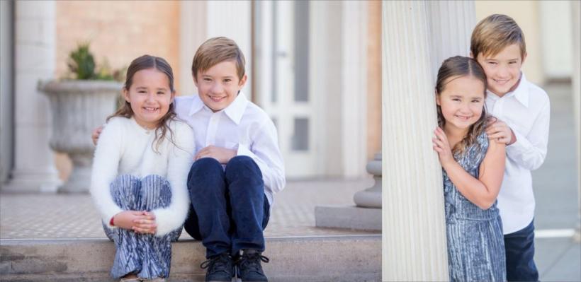 Sibling Fall Photography